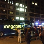 Photo taken at Megabus Bus Stop (New York, NY Drop-Off) by sunnychang on 4/6/2012