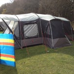 Photo taken at Delamere Forest Camping and Caravanning Club Site by Paul G. on 4/13/2012