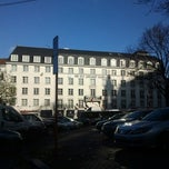 Photo taken at NH Hotel du Grand Sablon by Bart D. on 12/7/2011