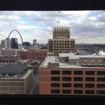 Photo taken at Sheraton St. Louis City Center Hotel & Suites by Dan R. on 3/4/2012