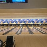 Photo taken at Buffaloe Lanes North Bowling Center by Claire R. on 9/3/2012