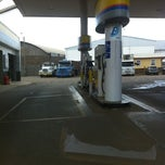 Photo taken at Posto Serrano Ipiranga by Alexandre N. on 3/12/2012