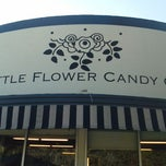 Photo taken at Little Flower Candy Company by Bernard V. on 12/28/2011