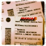 Photo taken at Check-in Iberia by Alex R. on 10/26/2011