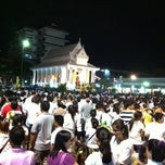 Photo taken at วัดพระราม ๙ กาญจนาภิเษก (Rama IX Golden Jubilee Temple) by Worrawalan E. on 3/7/2012