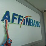Photo taken at Affin Bank Bandar Baru Ampang by Latiff I. on 8/25/2011