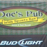 Photo taken at Doc's Pub Irish Sports Bar by Karen H. on 12/9/2011