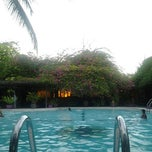Photo taken at Mesra Hotel Swimming Pool by Ronny I. on 7/4/2012