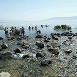 Photo taken at Sea of Galilee - Kinneret (כנרת) by d b. on 3/9/2012