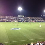 Photo taken at Jeffrey Field by Trish H. on 8/25/2012