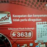 Photo taken at Telkomsel Grapari Penajam by Hikaru Chie C. on 4/20/2012