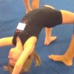 Photo taken at Galaxy Gymnastics by Roberta S. on 7/9/2012