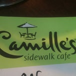 Photo taken at Camille's Sidewalk Cafe by Emily R. on 6/12/2011