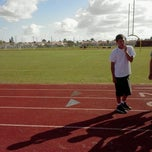 Photo taken at Hghs Footballfield by Adrian F. on 11/3/2011