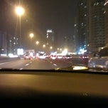 Photo taken at Dubai - Sharjah Road by Mohammed E. on 9/12/2012