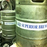 Photo taken at Lake Superior Brewing Co. by Tomasz M. on 8/27/2012