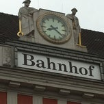 Photo taken at Bahnhof Hamm (Westfalen) by Andreas C. on 5/23/2012