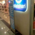 Photo taken at Matahari Departement Store by Marta H. on 9/11/2011