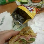 Photo taken at SUBWAY by Bobby B. on 11/15/2011