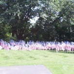 Photo taken at The September 11 Memorial in Echo Lake Park by NICK V. on 9/9/2011