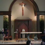 Photo taken at St. Mark's Catholic Church by Peter S. on 12/11/2011