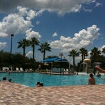 Photo taken at Rivercrest Clubhouse Pool by Tamara H. on 7/24/2011