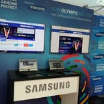 Photo taken at U.S. Olympic Genome Project Created by Samsung by Emily H. on 4/18/2012