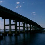 Photo taken at Caloosahatchee Bridge by Jeff B. on 10/2/2011