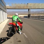 Photo taken at Circuito De Almería by John M. on 2/29/2012