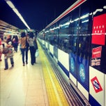 Photo taken at Metro Avenida de América by Aleyda S. on 6/5/2012