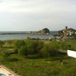Photo taken at Grand Şile Otel by Ilker O. on 4/21/2012