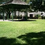 Photo taken at Gazebo Area by Jasmine D. on 3/2/2012