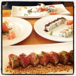 Photo taken at Mt. Fuji Steak & Sushi Bar by Miss K. on 4/24/2012