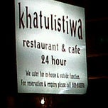 Photo taken at Khatulistiwa Restaurant & Cafe by sham i. on 12/30/2011