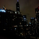 Photo taken at Inn of Chicago Rooftop Bar by Jeffrey P. on 4/29/2012