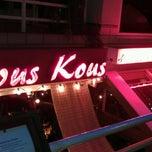 Photo taken at Kous Kous Moroccan Bistro by Tom S. on 9/1/2012