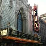 Photo taken at Fabulous Fox Theatre by Heather M. on 8/22/2012