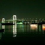 Photo taken at お台場海浜公園 (Odaiba Seaside Park) by Takashi K. on 11/2/2011