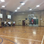 Photo taken at Seward Park High School Gym by Drew A. on 4/24/2012