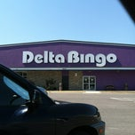 Photo taken at Delta Bingo by Ronise J. on 6/24/2012
