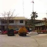 Photo taken at ที่ว่าการอำเภอวิเศษชัยชาญ by Jaruwan K. on 1/18/2012