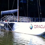 Photo taken at USA-71 BMW-Oracle Racing Boat by sandy h. on 7/25/2011