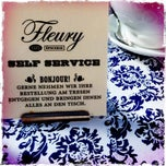 Photo taken at Café Fleury by Bernhard P. on 7/21/2011