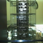 Photo taken at Aureole Wine Lounge by Traci G. on 1/24/2012