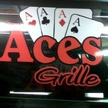 Photo taken at Aces Grille by B P. on 11/17/2011