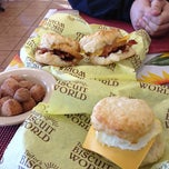 Photo taken at Tudor's Biscuit World by Zach W. on 4/6/2012