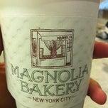 Photo taken at Magnolia Bakery by Marayza R. on 2/29/2012