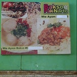 Photo taken at Bakso Pak Narto by Joana A. on 1/6/2012