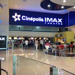 Photo taken at Cinépolis by Marcelo on 5/19/2012