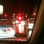 Photo taken at Traffic Light Lido Intersection by Dayana Izyani S. on 12/28/2010